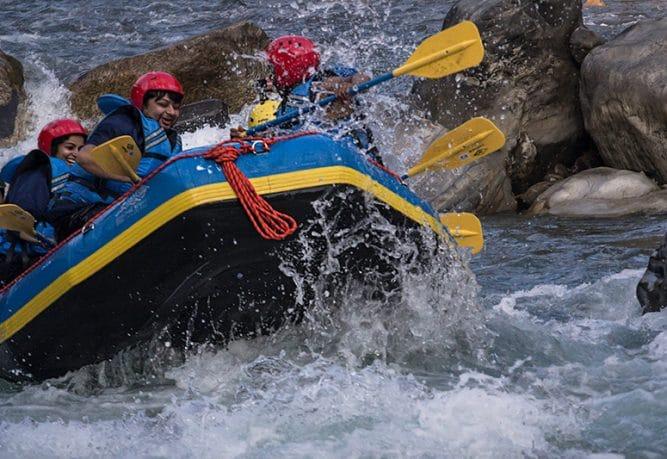 Bhote Koshi Rafting