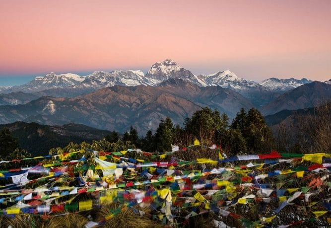 Ghorepani Poon Hill and Annapurna Basecamp Trek
